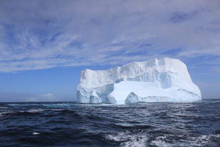 Weißer Eisberg